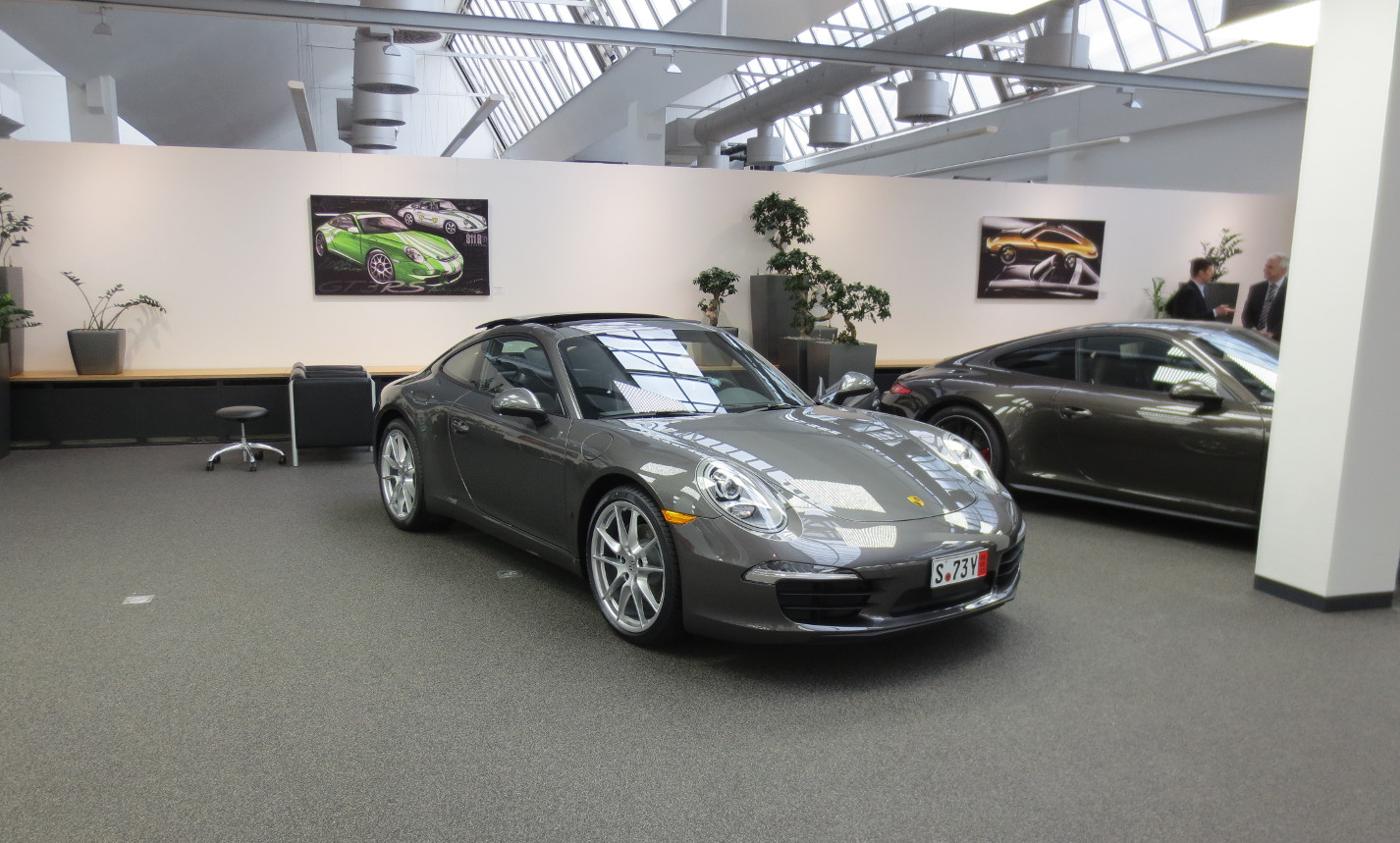 Porsche european delivery cost